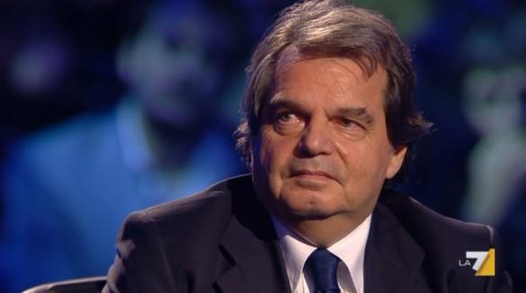 Renato Brunetta ospite di Santoro a Servizio Pubblico