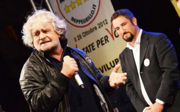 Beppe Grillo in Sicilia