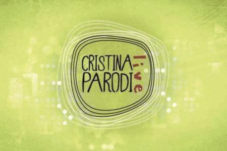 foto del logo del cristina parodi live