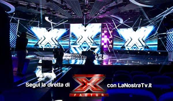 foto x factor 6 studio sky