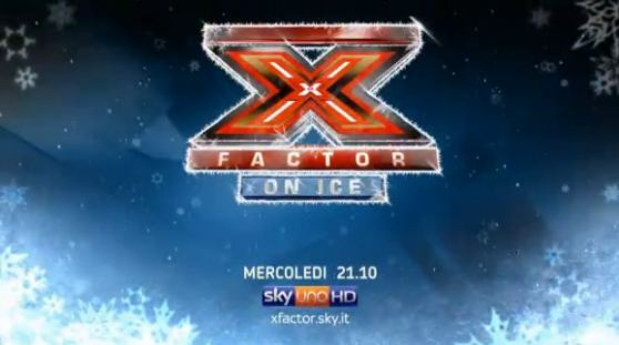 Foto di X Factor on ice su Skyuno