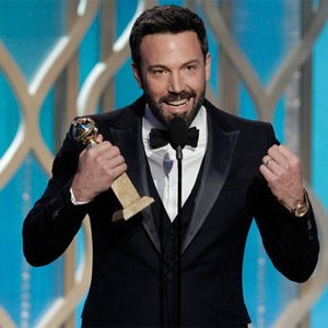 affleck golden globes 2013
