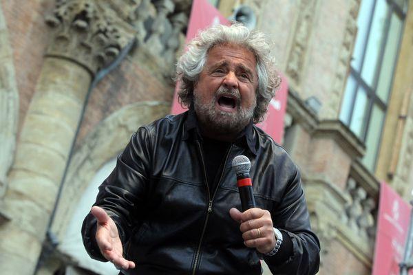 Beppe Grillo, campagna elettorale