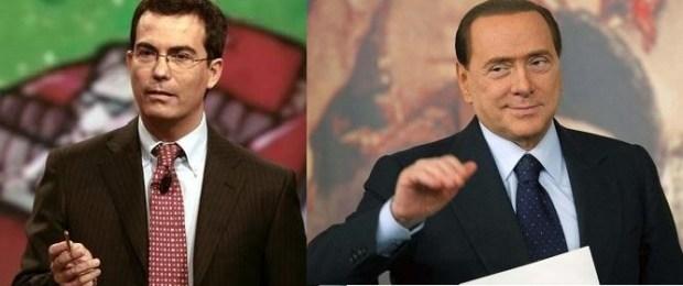 Berlusconi ospite di Ballarò di giovanni Floris martedì 5 febbraio
