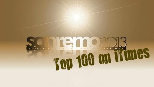 Sanremo 2013 classifica itunes