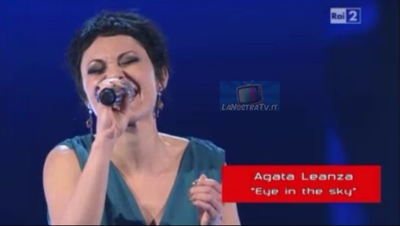Foto di Agata Leanza The Voice of Italy