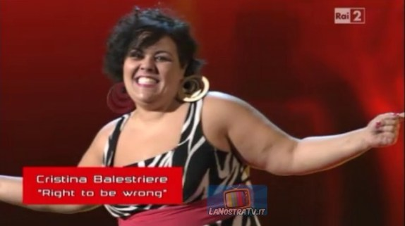 Foto di Cristina Balestriere The Voice