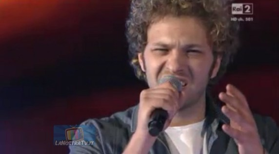 Foto di Emanuele De Lucas The Voice of Italy