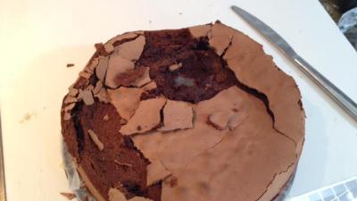 foto della torta di milo infante