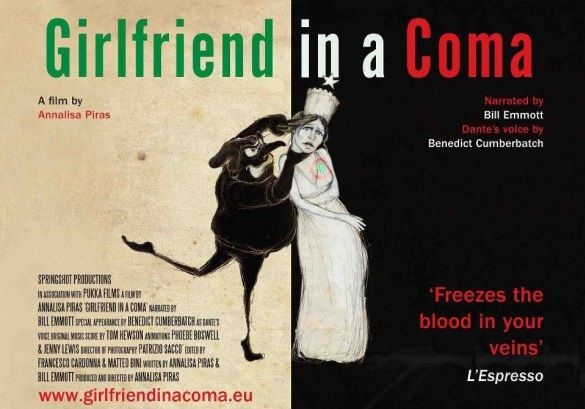 Girlfriend in a coma, il docufilm in prima tv su La7 sabato 9 marzo