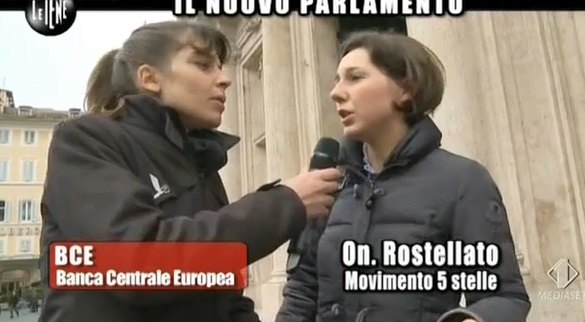 Rostellato, la parlamentare grillina a Le Iene