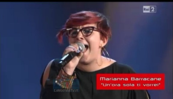 Foto di Marianna Barracane The Voice of Italy