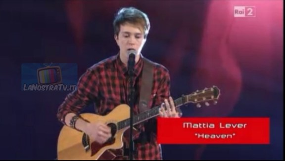 Foto di Mattia Lever The Voice
