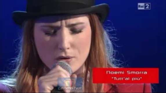 Foto di Noemi Smorra The Voice of Italy