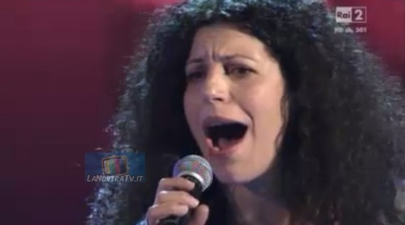 Foto di Rosalia Davi The Voice of Italy