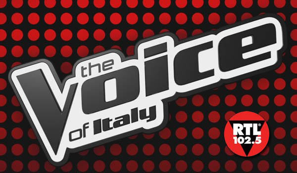 the voice of italy logo rtl 1205