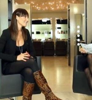 Simona Ventura con Nicole Minetti