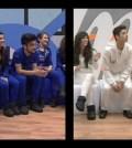 Foto della squadra bianca e squadra blu Amici 12