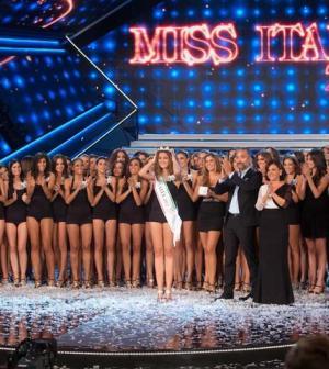 foto dello studio di miss italia 2012