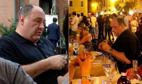 James Gandolfini: la star dei Soprano nelle ultime foto a Roma prima della morte