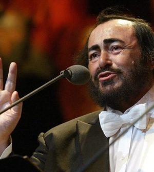 foto del tenore luciano pavarotti