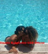 Claudia D'Agostino festeggia con Eleonora