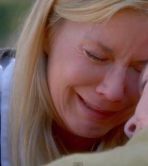 Brooke piange per Stephanie