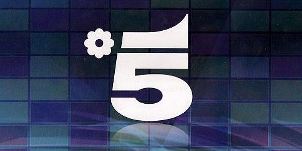 mediaset canale cinque logo