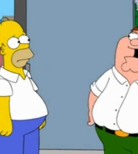simpsons family guy episode