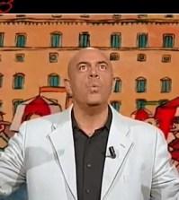 Il comico Maurizio Crozza