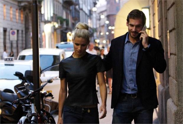 Michelle Hunziker e Tomaso Trussardi genitori