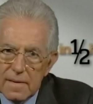 Mario Monti contro Daria Bignardi