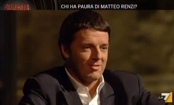 Matteo Renzi a Piazzapulita: anticipazioni lunedì 9 dicembre