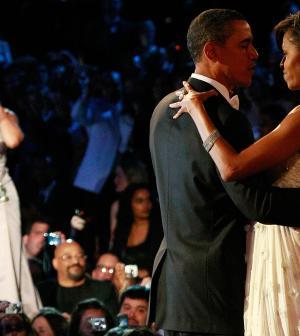 Beyoncé e gli Obama ai festeggiamenti per l'insediamento nel 2009