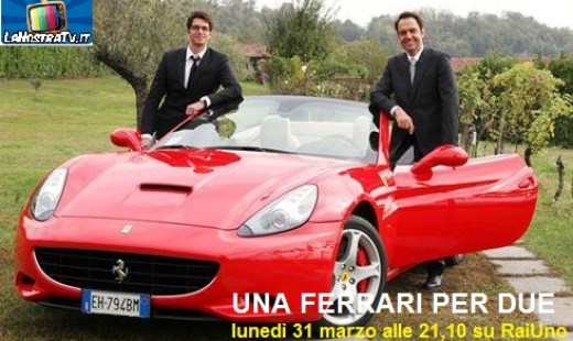 foto film tv una ferrari per due