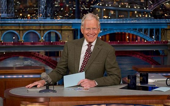 david letterman abbandona la tv