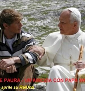 foto film tv non avere paura un'amicizia con papa wojtyla
