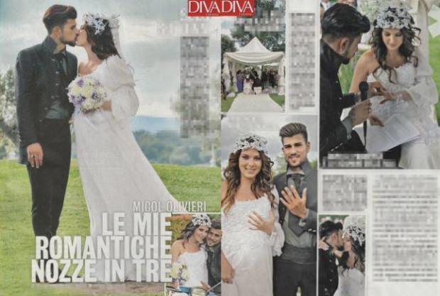 Micol Azzurro Matrimonio : Micol olivieri finalmente sposa il racconto della