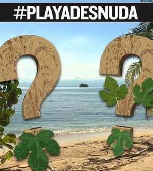 foto playa desnuda isola dei famosi