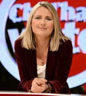 foto Federica Sciarelli in diretta su Rai3