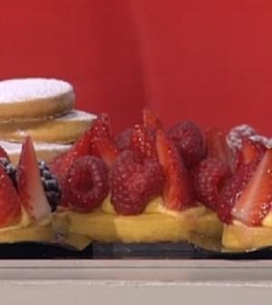 foto mini tortine di biscotti e cioccolato