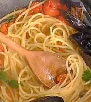foto spaghetti con le cozze