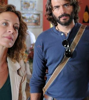 foto Carlotta Natoli e Daniele Pecci
