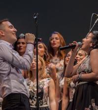 foto Alessio Zini e Sara Casali delle Verdi Note