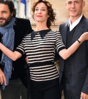 foto Carlotta Natoli Daniele Pecci e Gianmarco Tognazzi