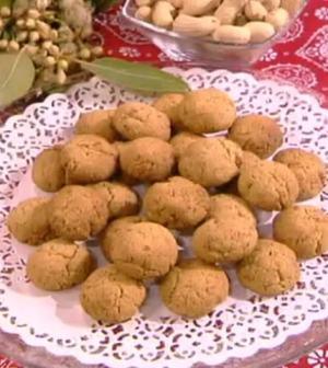 foto biscotti alle arachidi