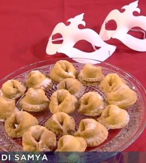 foto ravioli dolci di Carnevale