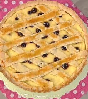 Anna Moroni A La Prova Del Cuoco Ricetta Crostata Di Visciole