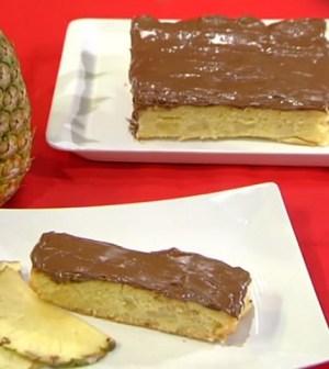 foto torta all'ananas Mattino 5