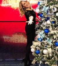 foto Barbara d'Urso albero di Natale